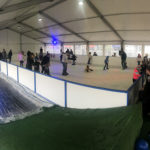 Temporary ice skating rink Queenscliff